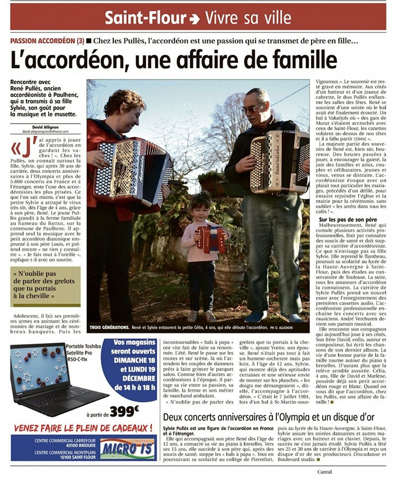 ARTICLE LA MONTAGNE