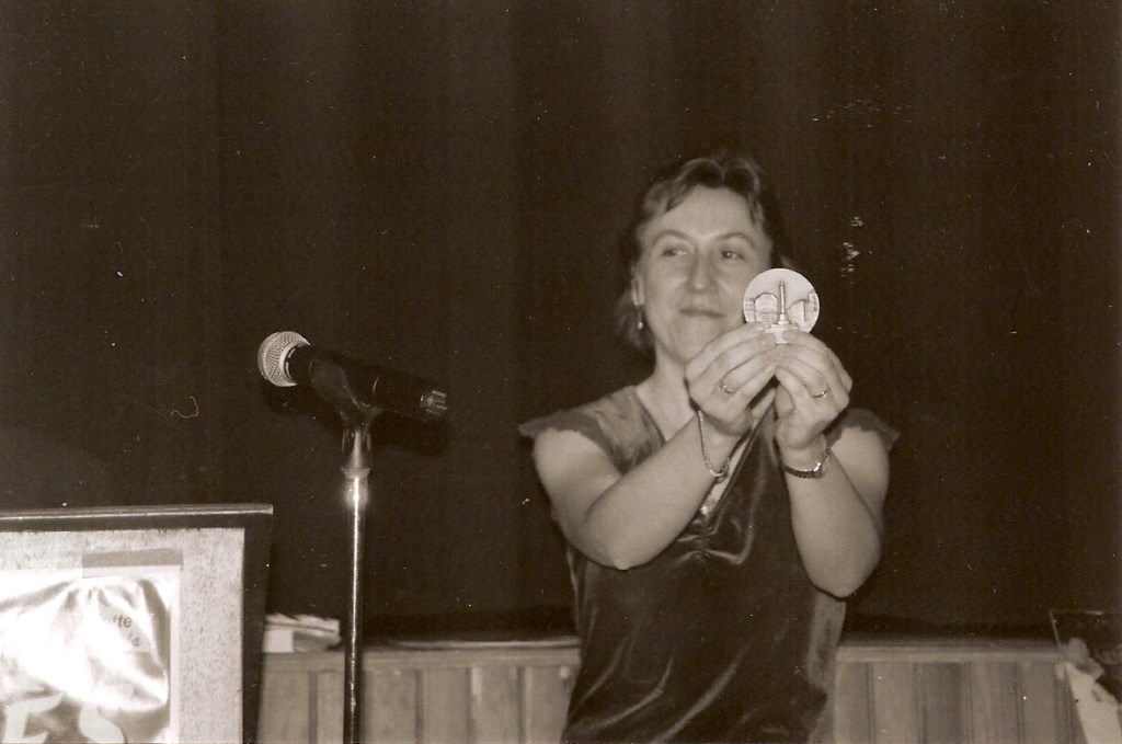 Sylvie Pullès - Médaillée de la ville de Pierrefort