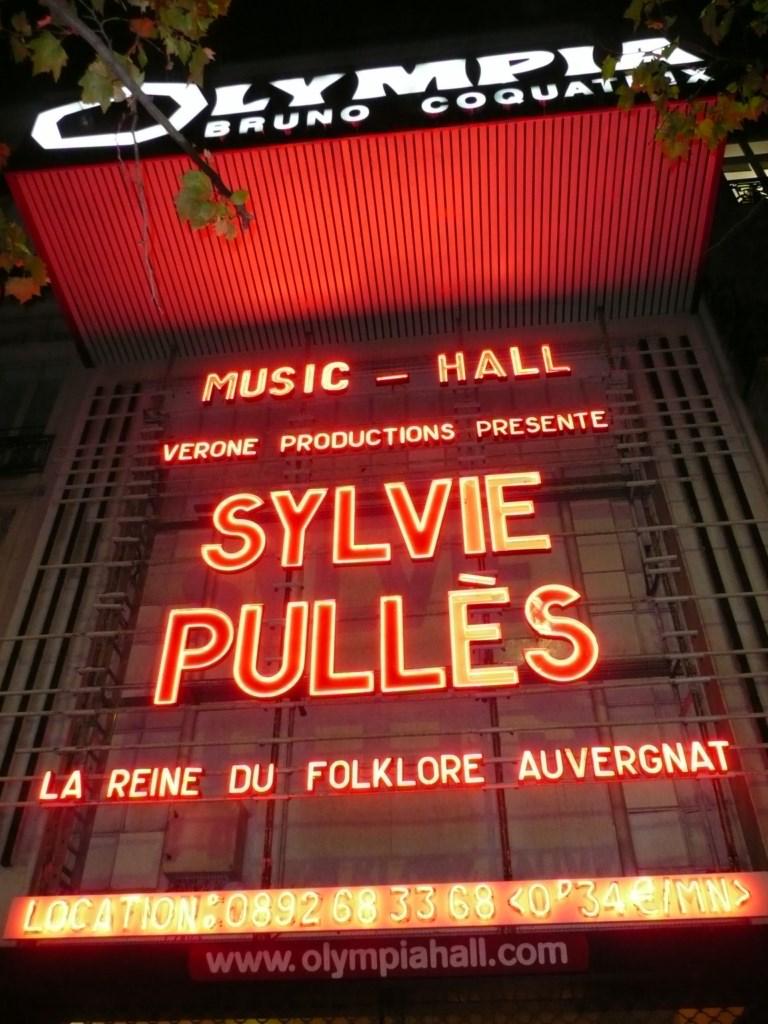 Sylvie Pullès - Olympia