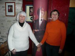 Marie Claude LESCURE , propriétaire du moulin de Claude FRANCOIS