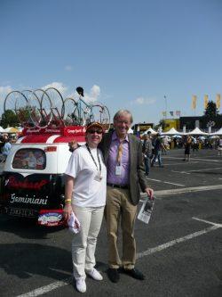 Daniel MANGEAS , la voix éternelle du Tour de France