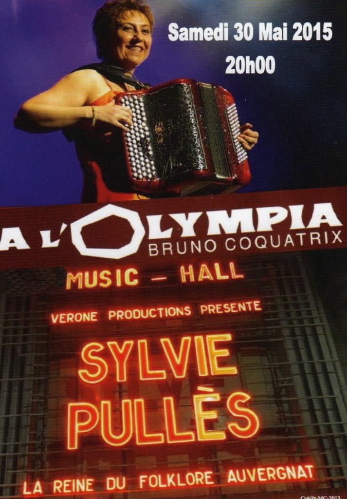 Olympia Sylvie Pullès 30 ans de carrière