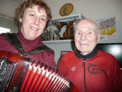 Robert MARCHAND , cycliste centenaire