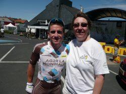 Tour de France avec Sylvie PUllès
