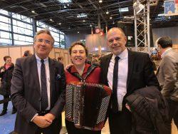 JF GALLIARD ,pdt de l'Aveyron et Yves CENSI, député de l'Aveyron